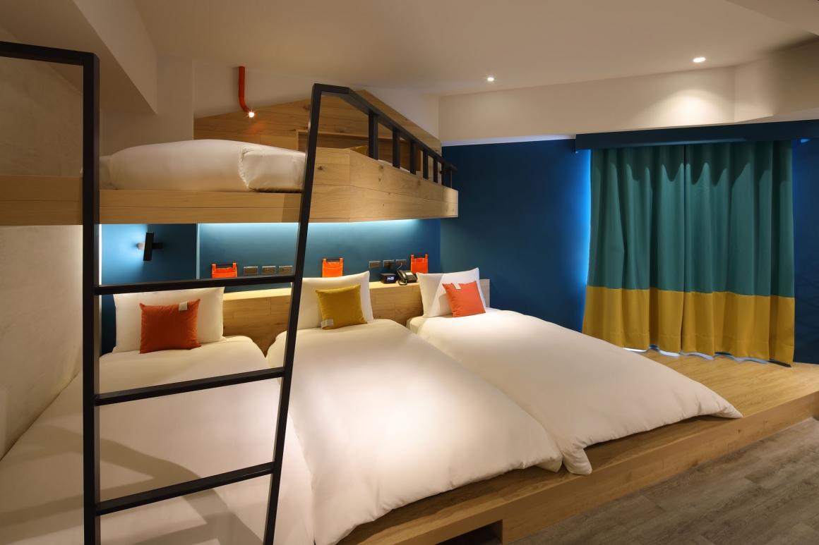 悅樂旅店歡樂四人房