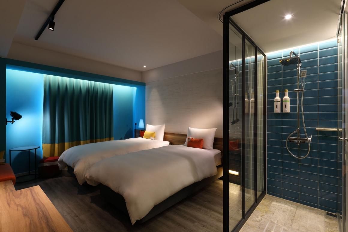 悅樂旅店活力雙人房